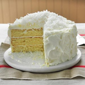 White Chocolate Fluffy Cake