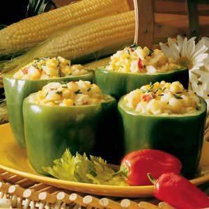 Corn-Stuffed Peppers