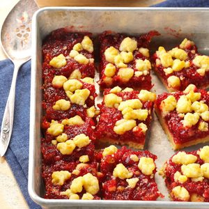 Cranberry-Orange Bars