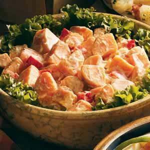 Mom's Sweet Potato Salad