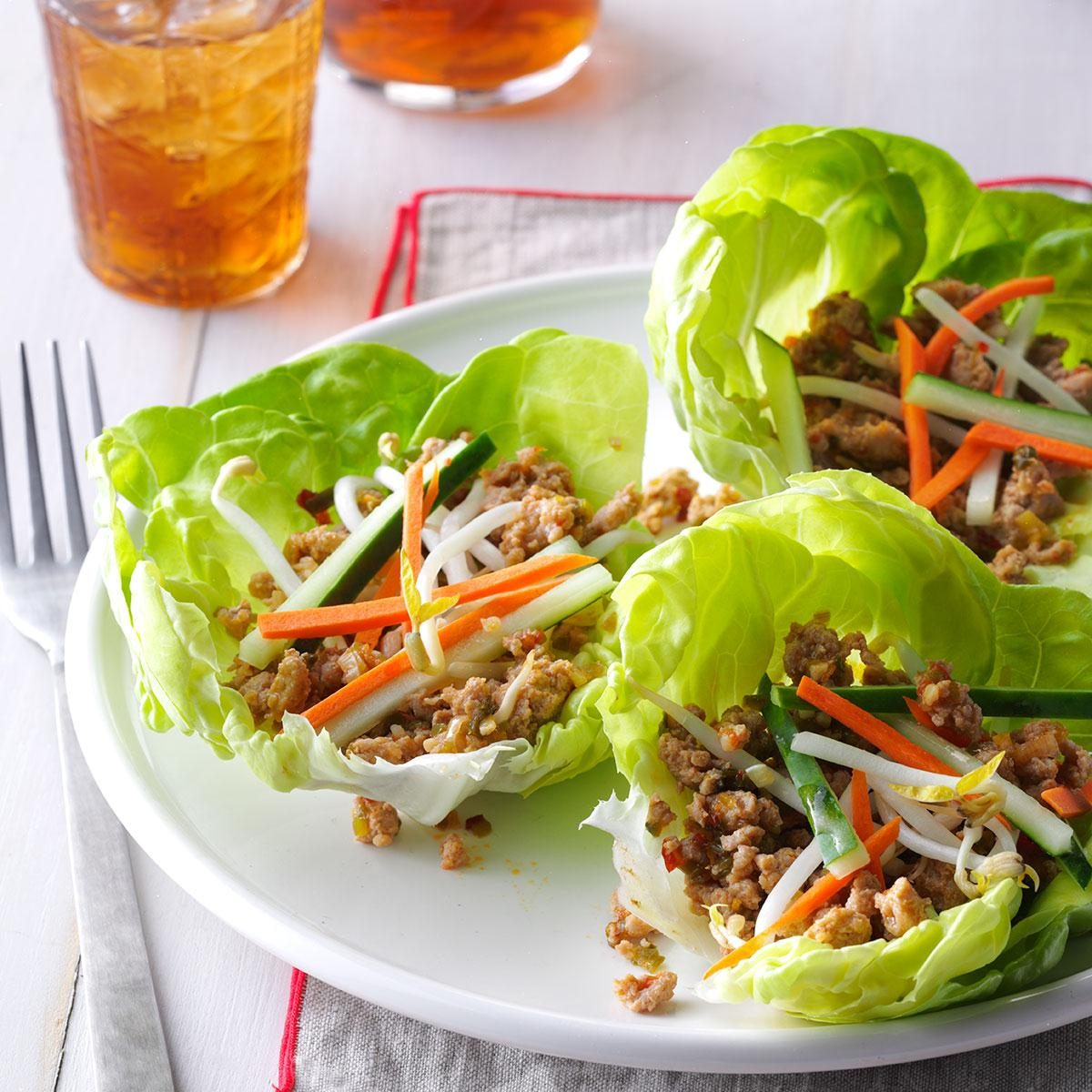 Inspired by: PF Chang's Lettuce Wraps