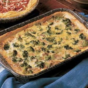 Broccoli Beef Pie