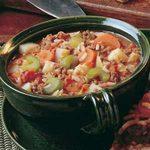 Vegetable Hamburger Soup