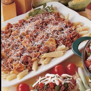 Herbed Italian Meat Sauce