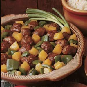 Yummy Sweet 'n' Sour Meatballs