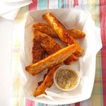 Parmesan Sweet Potato Wedges