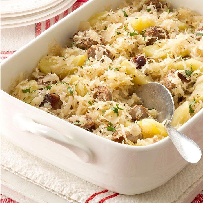 Sauerkraut Casserole