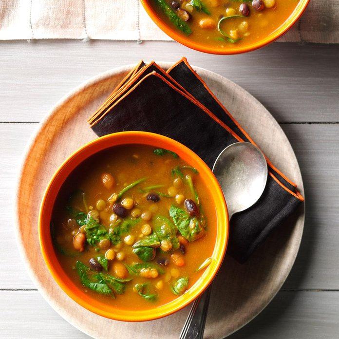 Day 7: Pumpkin Lentil Soup