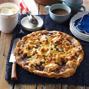 Pear Gruyere Pie