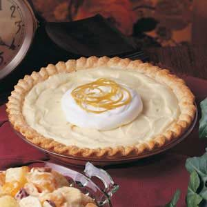 Yogurt Lemon Pie