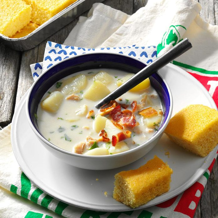 Inspired by: New England Clam Chowder