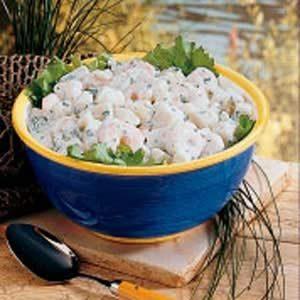 Shrimp Potato Salad