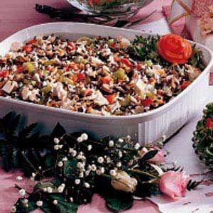 Chicken Wild Rice Dish