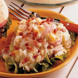 Microwave German Potato Salad