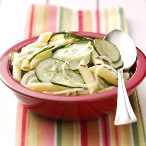 Cool Cucumber Pasta