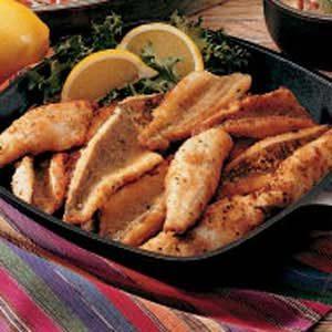 Cracker-Coated Fried Perch