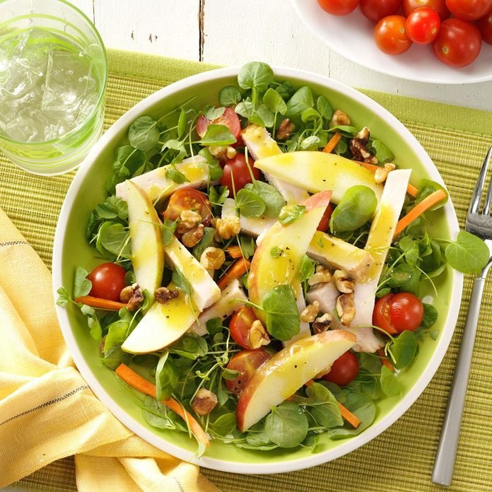 Smoked Turkey and Apple Salad