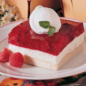 Cool and Creamy Raspberry Delight