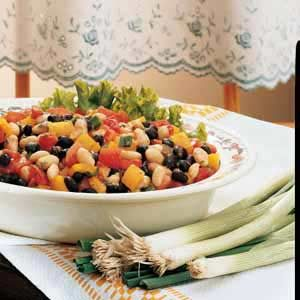Black-and-White Bean Salad