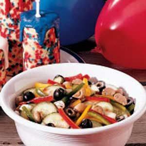 Three-Pepper Salad