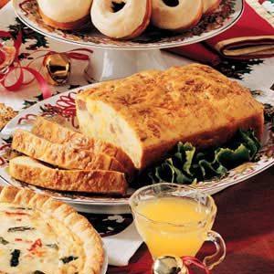 Breakfast in Bread