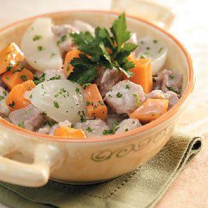 Sweet Potato Pork Stew