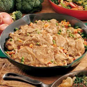 Stovetop Pork Dinner