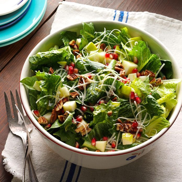 Wendy's Apple Pomegranate Salad