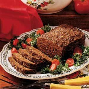 Pesto Meat loaf
