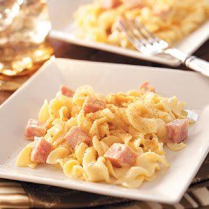 Ham-Noodle Bake