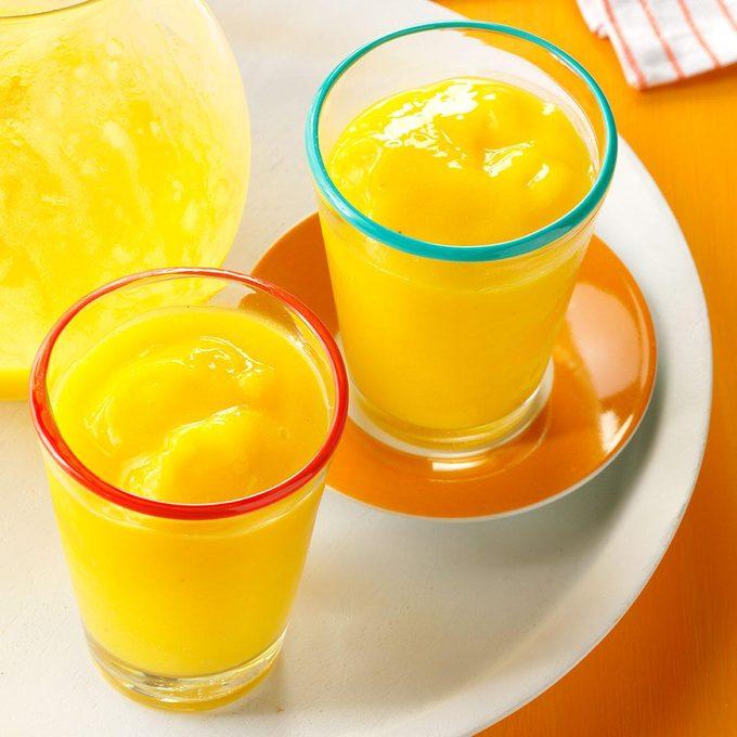 Mango Ginger Smoothies