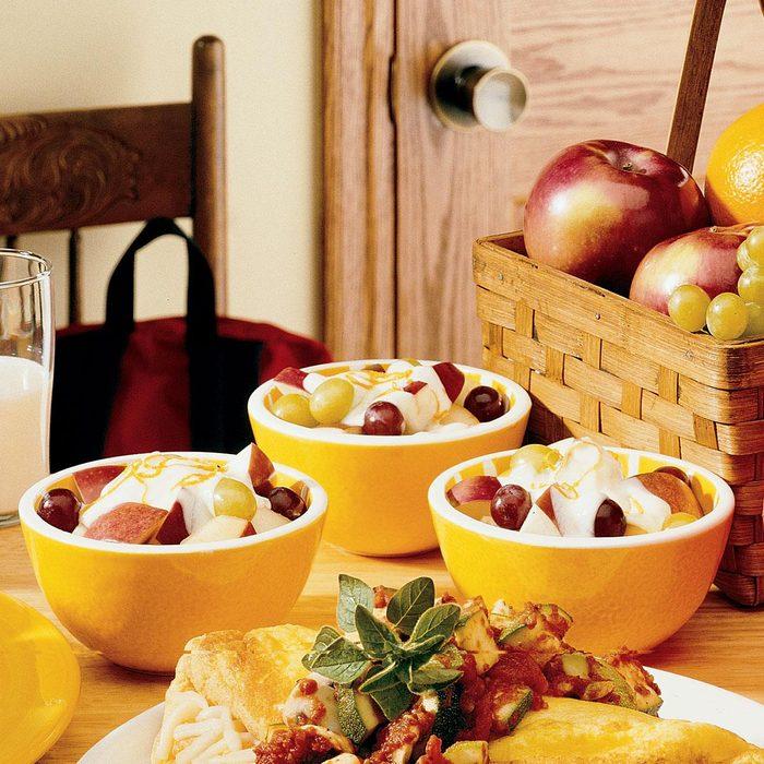 Honey Fruit Cups