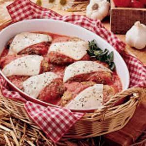 Cube Steak Parmigiana