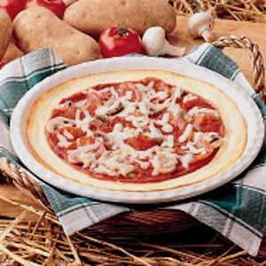 Potato-Crust Pizza