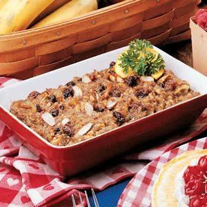 Sausage Granola Squares