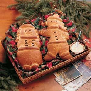 Sweet Yeast Bread Carolers