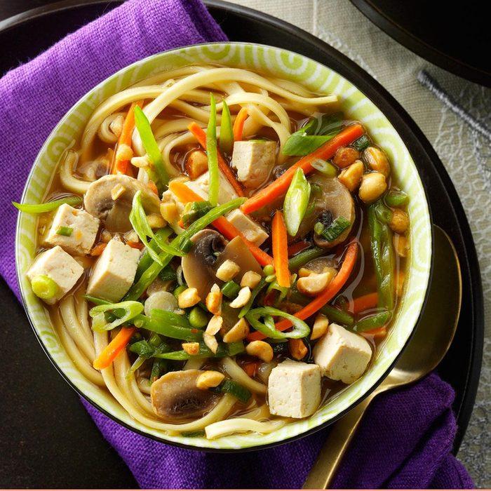 Asian Tofu Noodle Soup