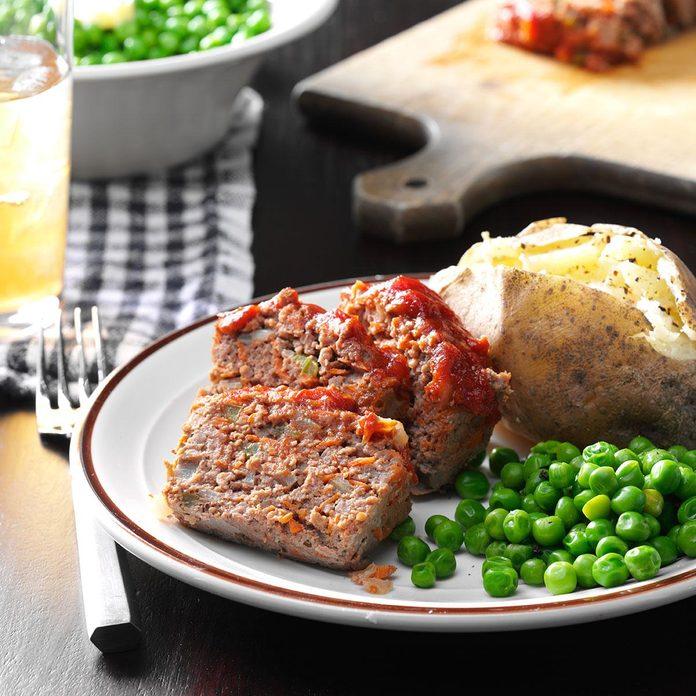 Vegetable Meat Loaf