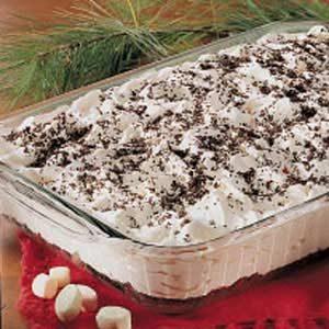 Fluffy Mint Dessert