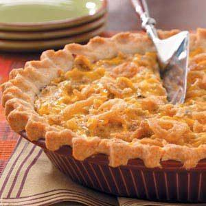 Tater Crust Tuna Pie