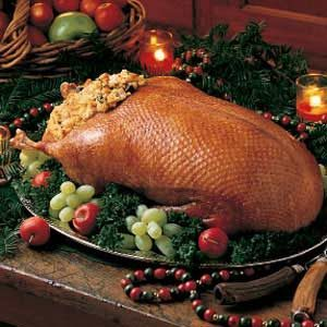 Wild Goose with Giblet Stuffing