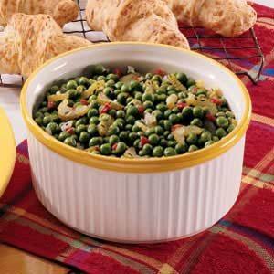 Zesty Buttered Peas