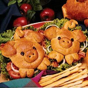 Porky's Sandwiches
