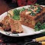Mushroom-Stuffed Meat Loaf