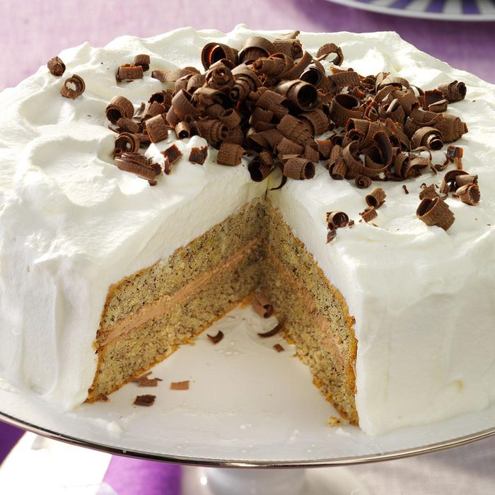 Favorite Hazelnut-Mocha Torte