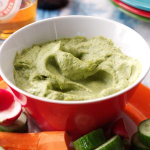 Lime Avocado Hummus