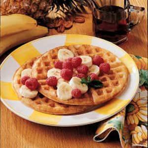 Tutti-Frutti Waffles
