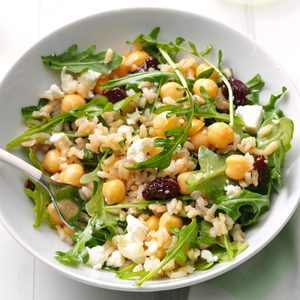Arugula & Brown Rice Salad