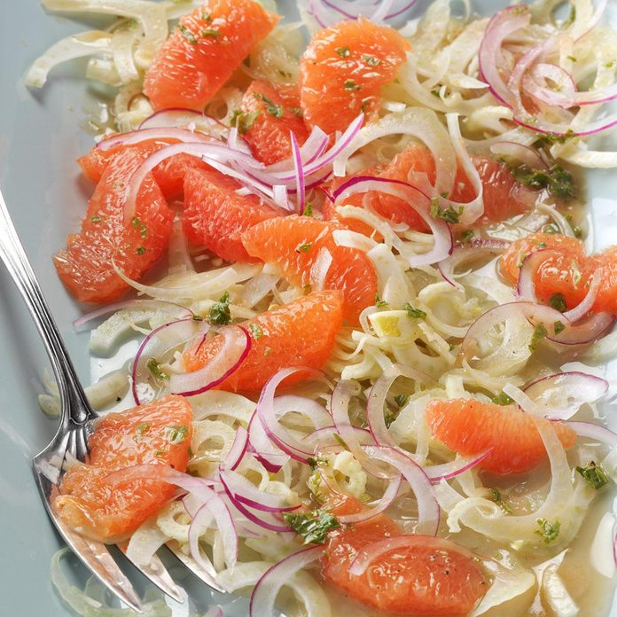Grapefruit & Fennel Salad with Mint Vinaigrette