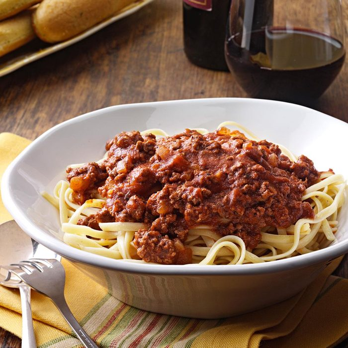 1959: Spaghetti with Meat Sauce